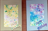 watercolour birthdays