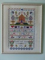Cross stitch, Tapestry and Embroidery