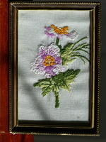 Long stitched Flower